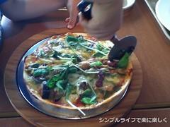 2015.7.11六甲ガーデンテラス昼食ピザ