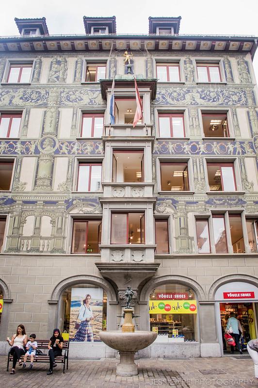Shopping Hertensteinstrasse Lucerne Switzerland