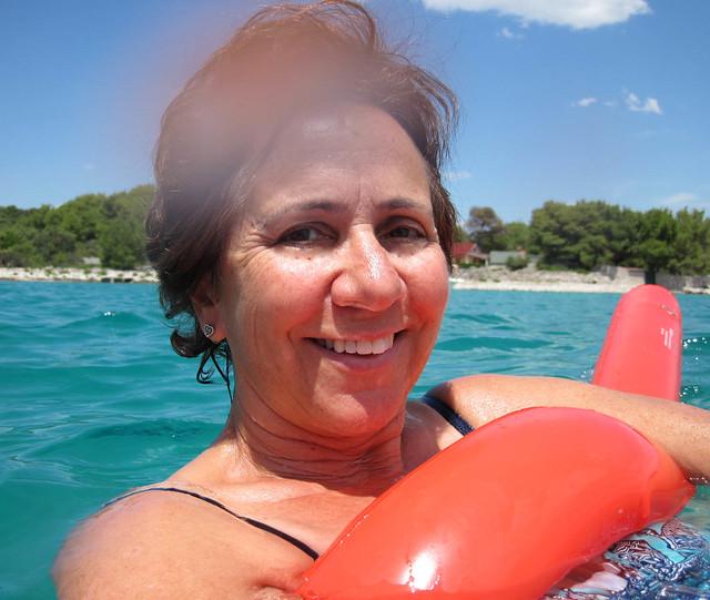Swimming in the Aegean Sea