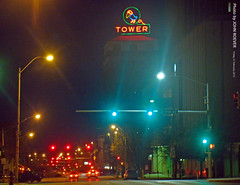 Jayhawk Tower at Night, 27 Feb 2015