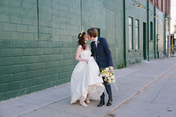 Celine Kim Photography Bellwoods Brewery intimate city wedding Toronto vintage ttc streetcar-94