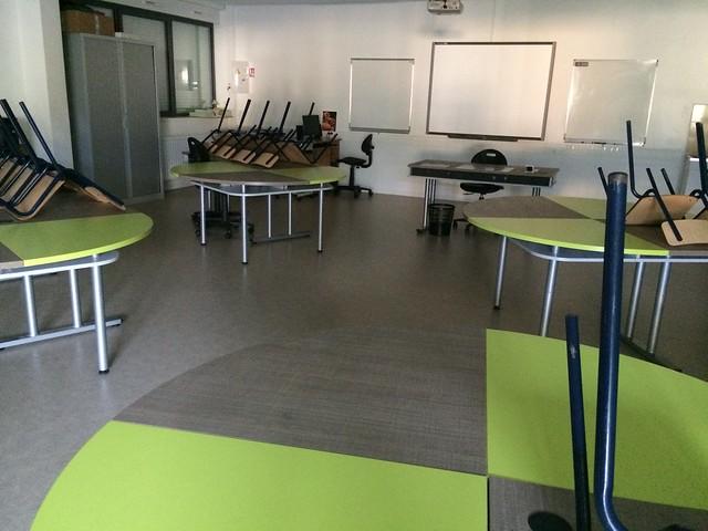salle de classe technologie