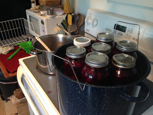 Load 1 of 2, quarts of sweet cherries in extra-light syrup.