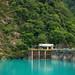 The turquoise lake at Taroko. #Leica #Taiwan #Landscape