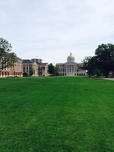 Visiting my alma mater