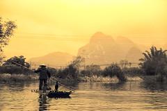 Li River in Yangshuo