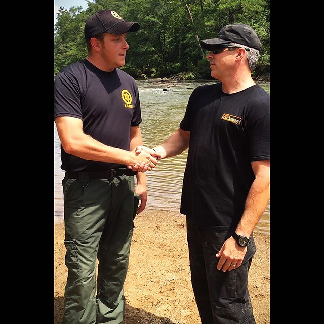 Scaly Dad, Rick Curren, thanks Deputy Clint Adams of the Douglas County, GA Sheriff's Office K-9 Unit for his service.  Watch the short video shot on location with Deputy Adams and hear what inspires him to serve his community!  You can see this video on