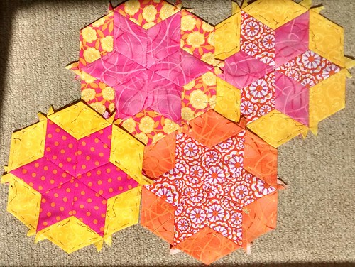 first four hexagon stars