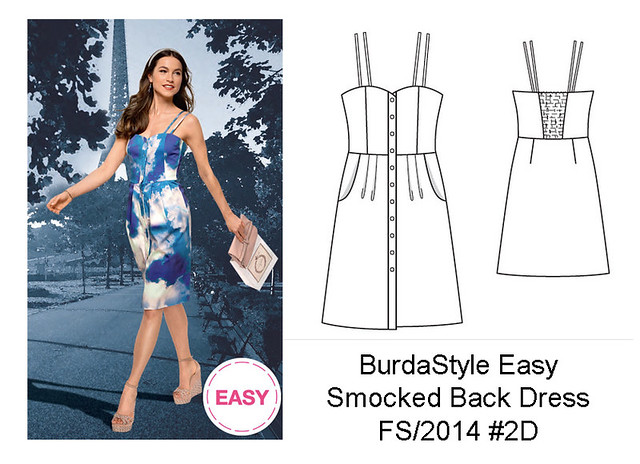 Burda Easy sundress