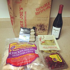 First Trader Joes trip was a success! #traderjoes #myfirsttime #success