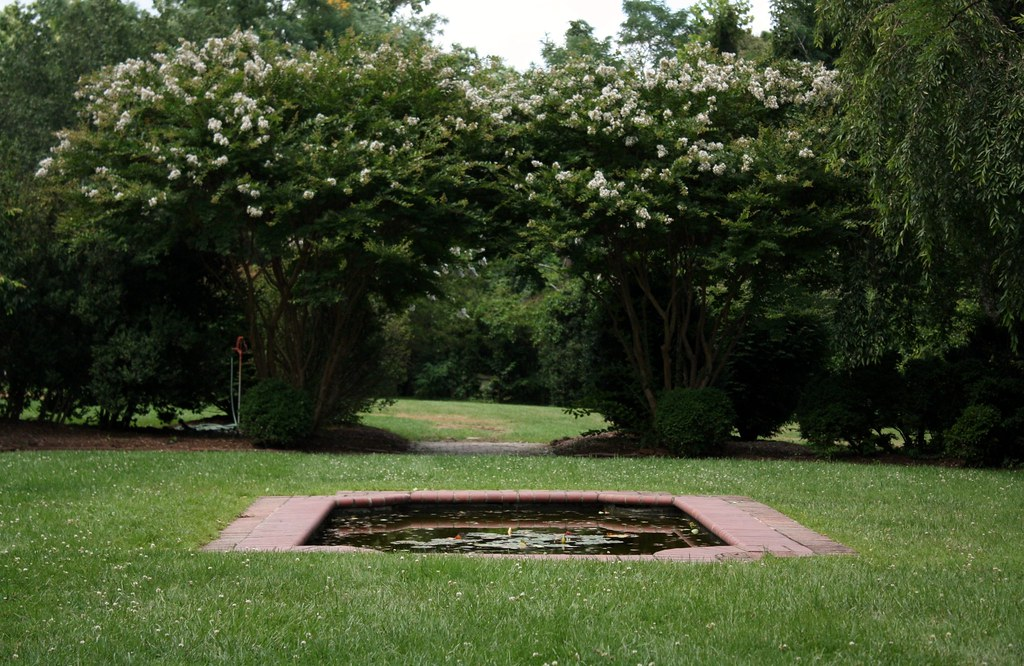 Woodlawn pond and gardens