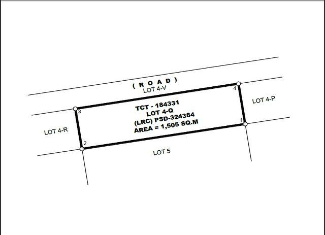 Residential Lot for Sale Capas Tarlac