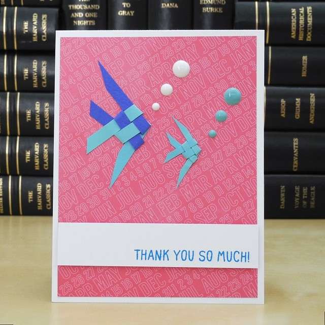 Thank You So Much by Jennifer Ingle #JustJingle #BlissHabits #ThankYou #Cards