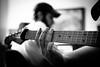 Enregistrement de la guitare by Patrick Matte