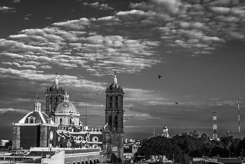 Atardecer en Puebla