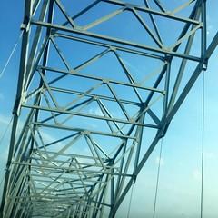 Carroll Cropper Greets the Sun - #indiana #kentucky #kentuckypics #ohioriver #bridges #cincygram #cincinnati