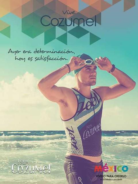 Ironman-Nadador- Cozumel