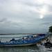 Tecolutla, Barcas en Rivera del Río. por helicongus