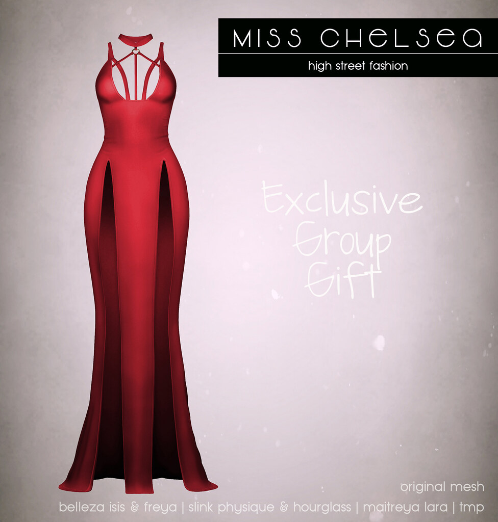 .miss chelsea. jada dress - exclusive group gift @ the main store now! - SecondLifeHub.com