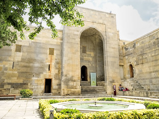 Image of Shirvanshahs' Palace complex.