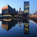 Canning Dock Reflections by .annajane