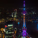 The Oriental Pearl TV Tower at Night by fesign