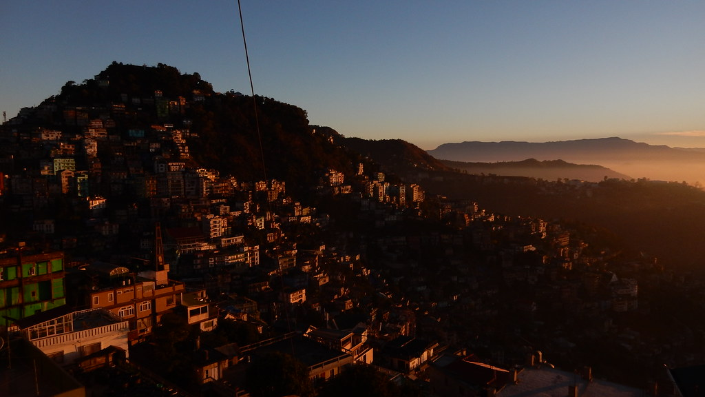 Aizawl sunrise