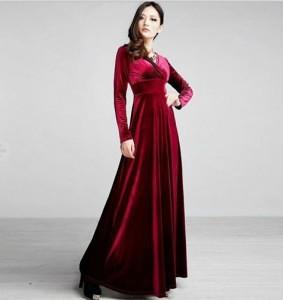 Velvet Dress for Perfect Prom