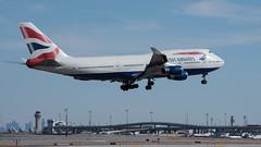 British Airways Boeing 747-436 G-BYGF