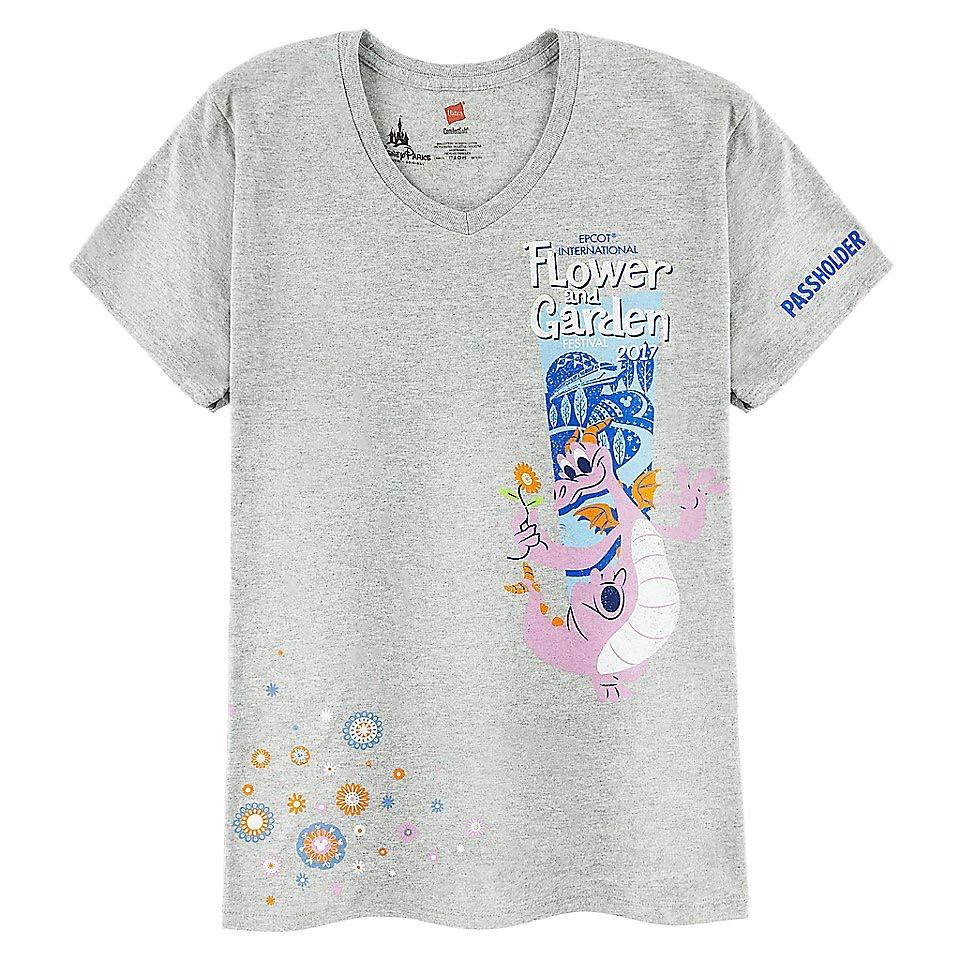 Epcot International Flower and Garden Festival 2017 Passholder T-Shirt