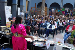 Show cooking con Saida Elkinani