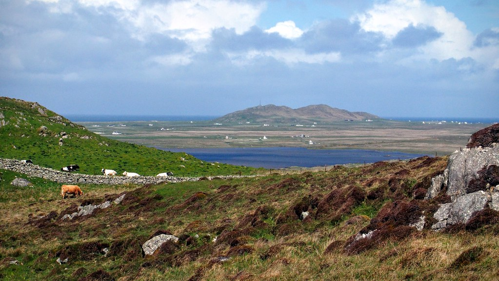 Beinn Hough from Ben Hynish, Tiree