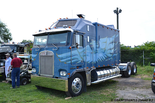Kenworth K100 Big Bunk Sleeper