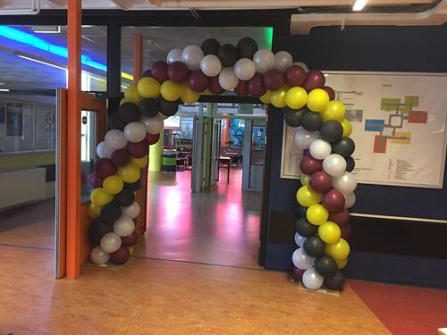 Ballonboog 6m Diplomering Geslaagd Scala Rietvelden Spijkenisse