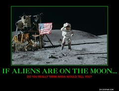 aliens on the moon?