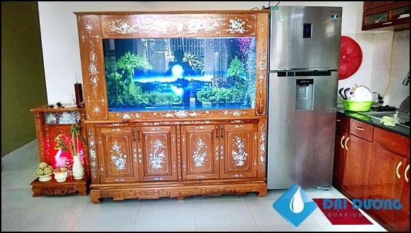 hồ cá rồng a.Sơn Nha Trang