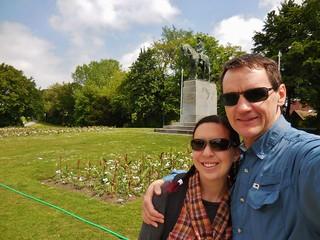 At the Koning Albert I Park