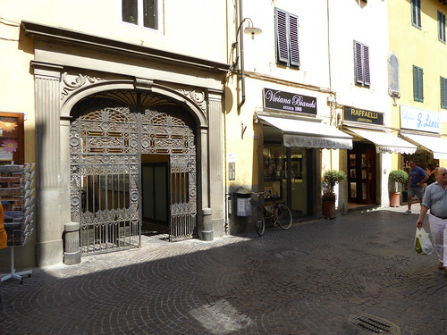 Our gate in Lucca