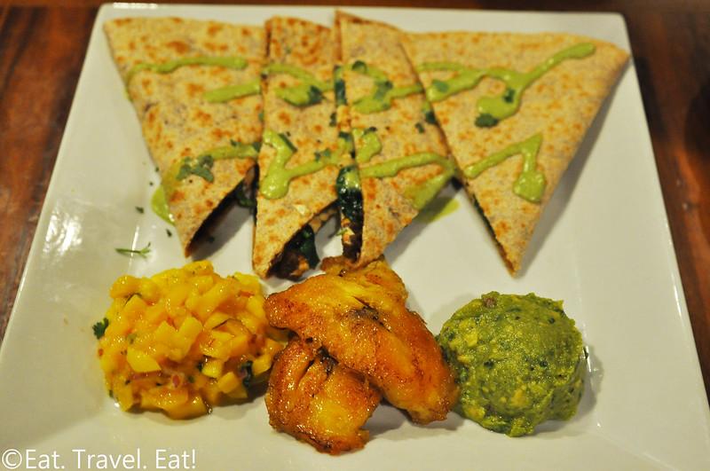 Real Food Daily- Pasadena, CA: Carribean Quesadillas