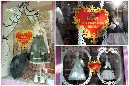 BTSSB PARIS Store Front