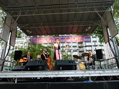 Kat Edmonson and her band
