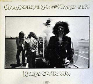 "RANDY CALIFORNIA KAPT. KOPTER AND THE FABULOUS TWIRLY BIRDS 12"" LP VINYL"