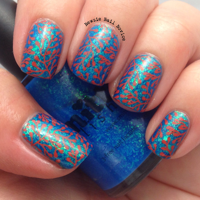 All rights reserved - Under The Sea Coral Nail Art Newsie Nail Novice