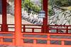 Red walkway & lanterns by koalie