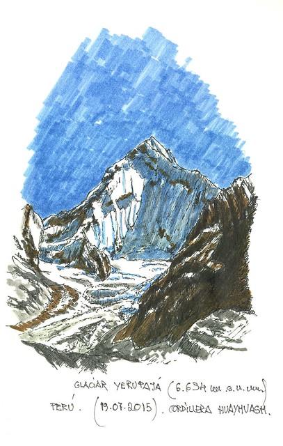 Glaciar Yerupajá (6.634 m.s.n.m.) Perú