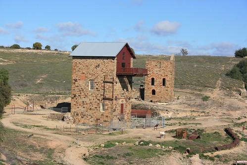 Morphett's Pump House Burra Copper Mine