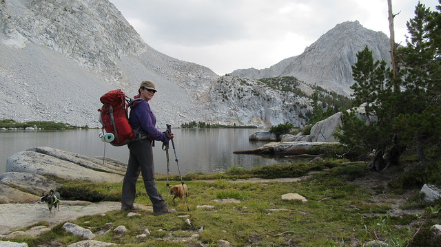 Backpacking to Hilton Lakes
