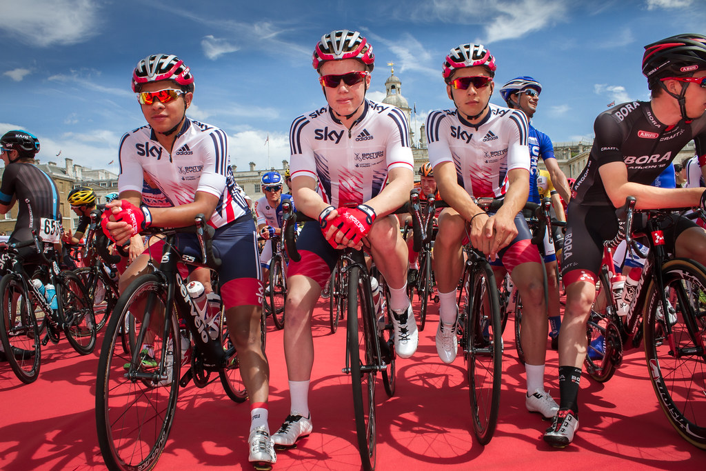Great Britain Cycling Team Senior Academy at Prudential RideLondon-Surrey Classic