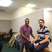 Kamal Williams and Paul Smith at Englewood Youth-Led Tech by danxoneil