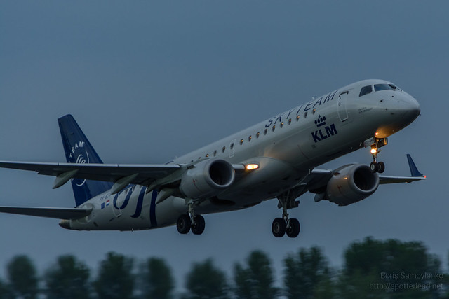 PH-EZX | KLM Cityhopper | Embraer ERJ-190